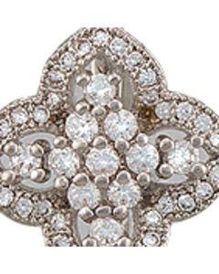 Montana Silversmiths Women's Four Point Bloom Sparkle Earrings , , hi-res