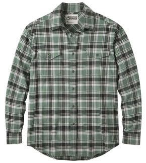 Mountain Khakis Men's Wintergreen Peaks Flannel Shirt , Green, hi-res
