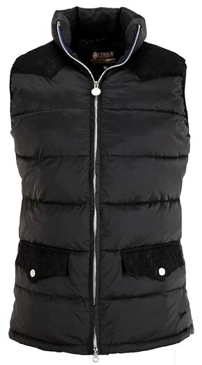 Outback Trading Co. Symphony Down Vest, Black, hi-res