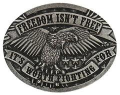 Cody James Men's Freedom Isn't Free Belt Buckle, , hi-res