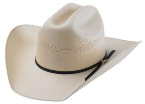 Tony Lama Ranch Cali Straw Cowboy Hat, Natural, hi-res