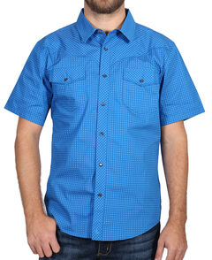 Cody James Men's Printed Western Short Sleeve Shirt, , hi-res