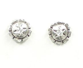 Lightning Ridge Rhinestone Concho Earrings, Multi, hi-res