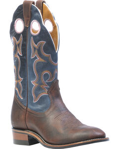 Boulet Laid Back Copper Organza Azul Cowgirl Boots- Round Toe, , hi-res