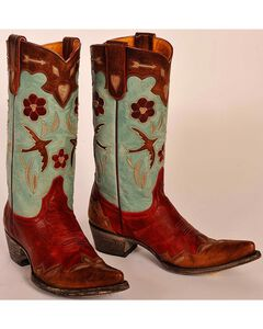 Old Gringo Golondrina Pull Cowgirl Boots - Pointed Toe, , hi-res