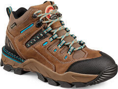 Red Wing Irish Setter Two Harbors Hiker Work Boots - Soft Toe , , hi-res