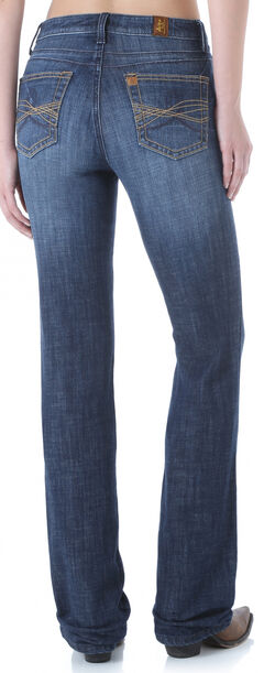 Wrangler Aura Women's Instantly Slimming Booty Up Bootcut Jeans, , hi-res