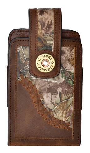 Justin Original Workboots Camo Large Smartphone Case, Camouflage, hi-res