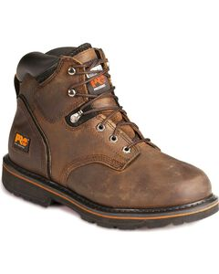 "Timberland Pro Pit Boss 6"" Lace-Up Work Boots, , hi-res"