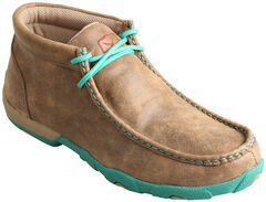 Twisted X  Women's Turquoise Driving Mocs, , hi-res
