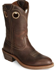 Ariat Trail Hand Western Work Boots  - Round Soft Toe, , hi-res
