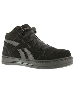 Reebok Men's Dayod Skate Work Shoes - Composition Toe, Black, hi-res
