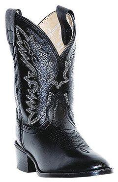 Dan Post Boys' Chaps Cowboy Boots - Round Toe, , hi-res