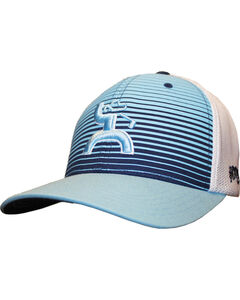 Hooey Men's Long Drive Striped Baseball Cap , , hi-res