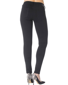Silver Jeans Co. Aiko Black Mid Super Skinny Joga Jeans, Black, hi-res