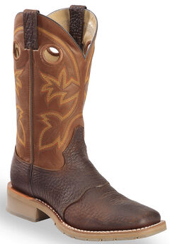 Double H Canyon Rust Saddle Vamp Western Work Boots - Square Toe, , hi-res