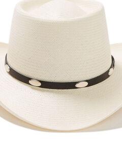 Stetson Royal Flush 10X Shantung Straw Cowboy Hat, , hi-res