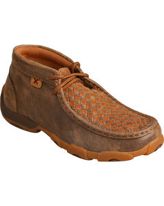 Twisted X Boys' Tall Driving Moccasin Boots - Round Toe , , hi-res