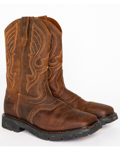 Cody James Men's Western Work Boots - Square Toe, , hi-res