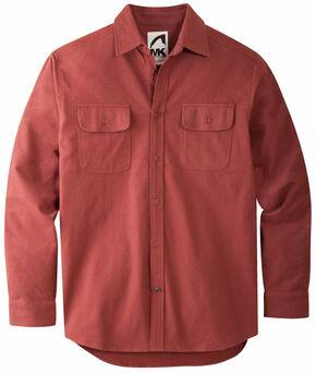 Mountain Khakis Men's Oxblood Ranger Chamois Shirt, Red, hi-res