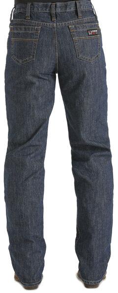 "Cinch Men's White Label WRX Flame Resistant Jeans - 38"" inseam, Dark Denim, hi-res"