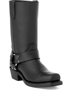 Durango Women's Black Harness Western Boots - Square Toe, , hi-res