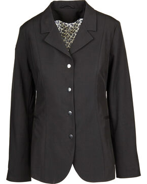 Dublin Women's Derby Soft Shell Show Coat, Black, hi-res