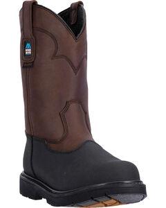 McRae Men's Waterproof Pull On Work Boot - Steel Toe, , hi-res