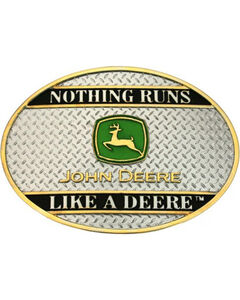 Montana Silversmiths Nothing Runs Like a Deer Buckle, , hi-res