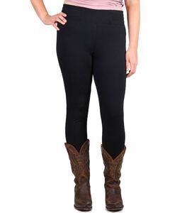 Boom Boom Jeans Women's Black Leggings - Plus, , hi-res