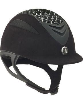 One K Defender Suede Brocade Helmet, Black, hi-res