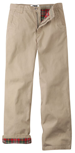 Mountain Khakis Men's Flannel Relaxed Fit Original Mountain Pants , , hi-res