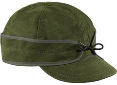 Stormy Kromer Men's Olive Waxed Cotton Cap, , hi-res
