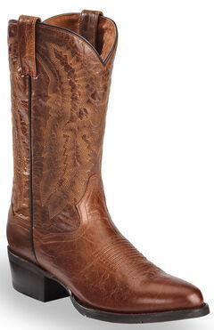 Dan Post Cash Cowboy Boots - Round Toe  , , hi-res