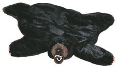 Carstens Home Small Black Bear Rug, , hi-res