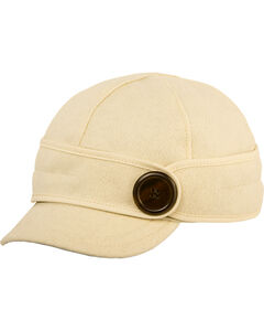 Stormy Kromer Women's Winter White The Button Up Cap, , hi-res