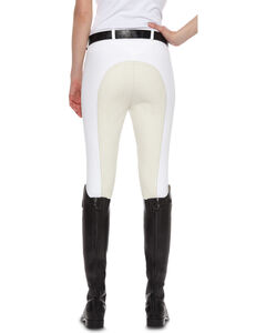 Ariat Women's Olympia Zip-Front Regular Rise Full Seat Breeches, , hi-res
