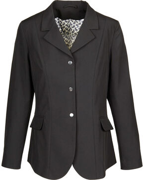 Dublin Women's Bristol Soft Shell Show Coat, Black, hi-res