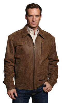 Cripple Creek Hand-sanded & Distressed Leather Jacket, , hi-res