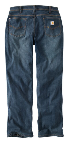 Carhartt Women's Boone Relaxed Fit Flannel-Lined Jeans, , hi-res