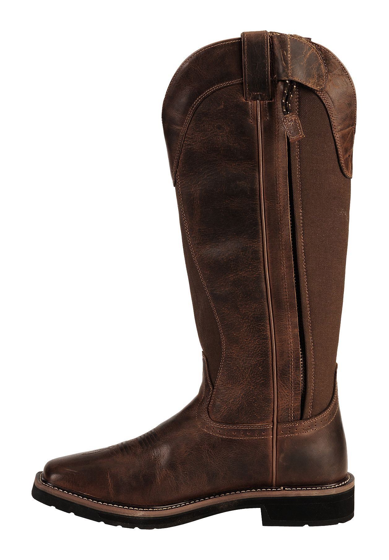 Justin Men S 17 Quot Fielder Brown Snake Proof Boots Soft
