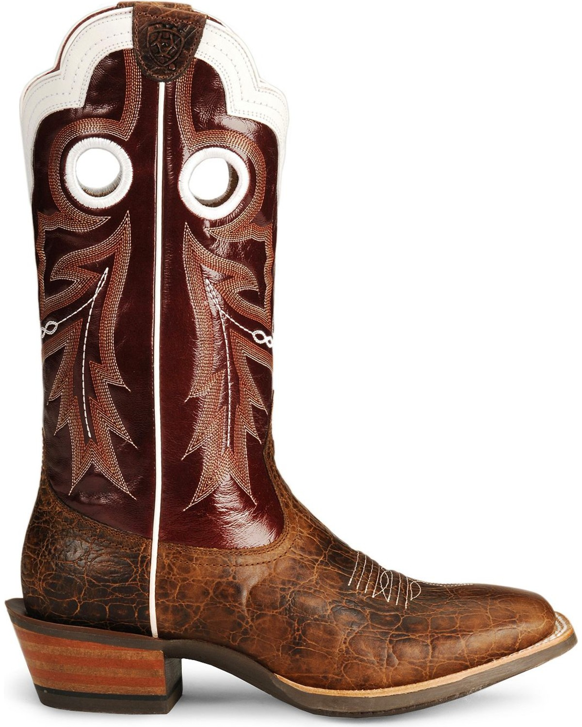 Ariat Wildstock Cowboy Boots - Wide Square Toe | Sheplers