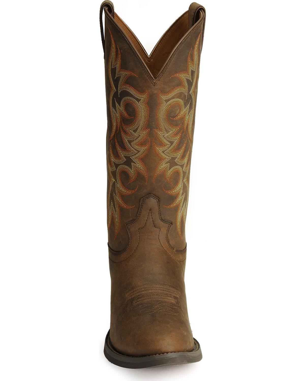 Justin Stampede Western Apache Cowboy Boot Med Toe