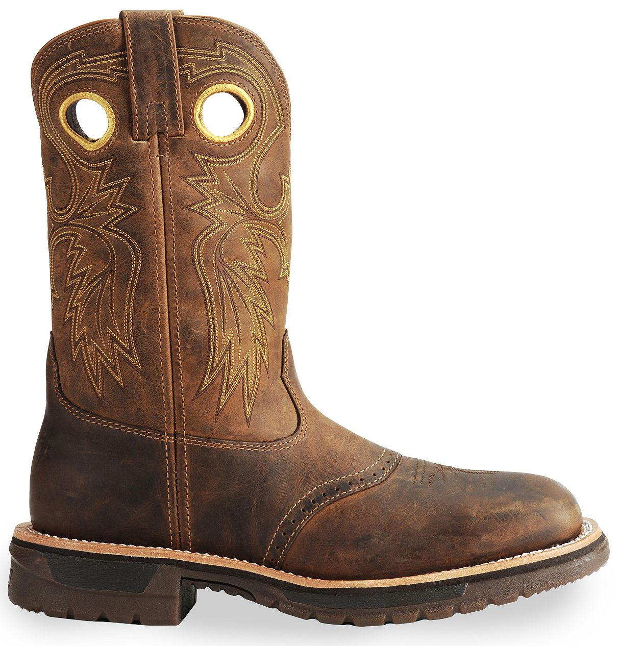 Rocky Ride Western Work Boot - Square Steel Toe | Sheplers