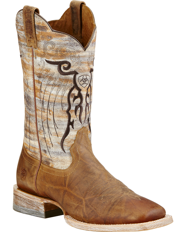 Ariat Tan Mesteno Cowboy Boots - Square Toe | Sheplers