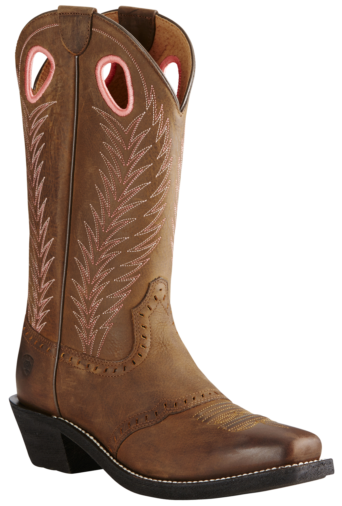 Ariat Women S Brown Heritage Rancher Boots Square Toe