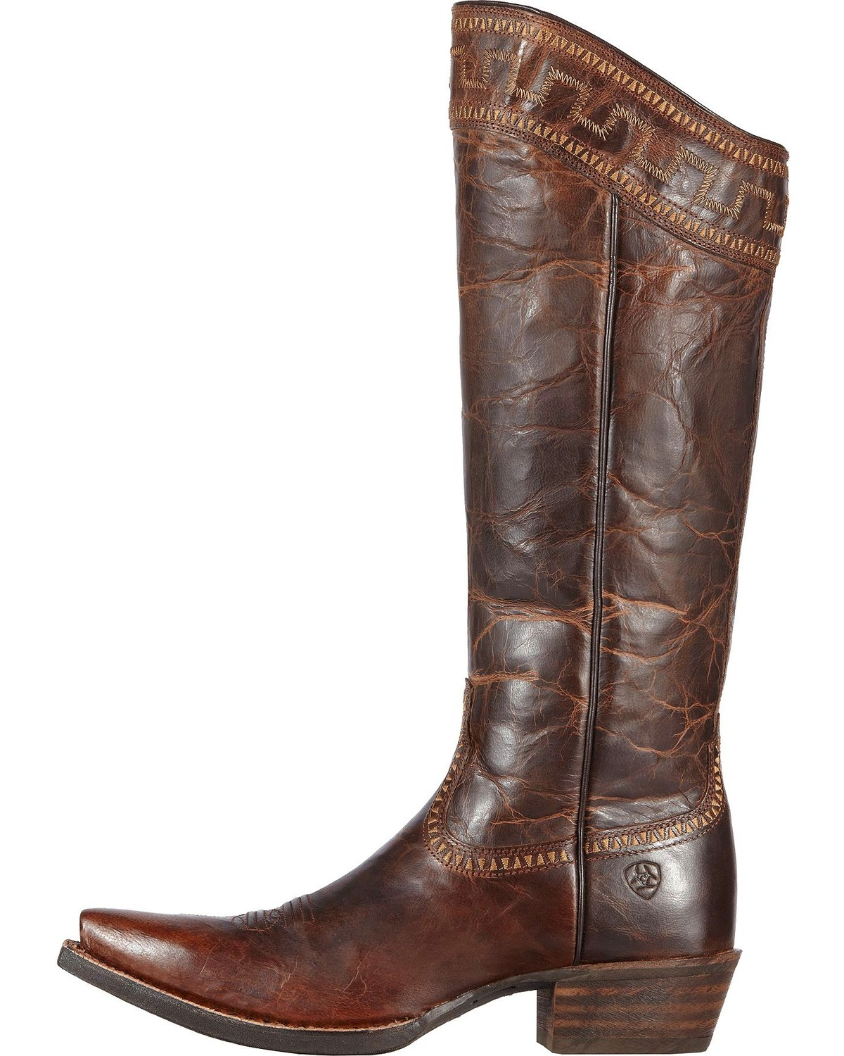 "Ariat Sahara 15"" Cowgirl Riding Boots - Snip Toe 
