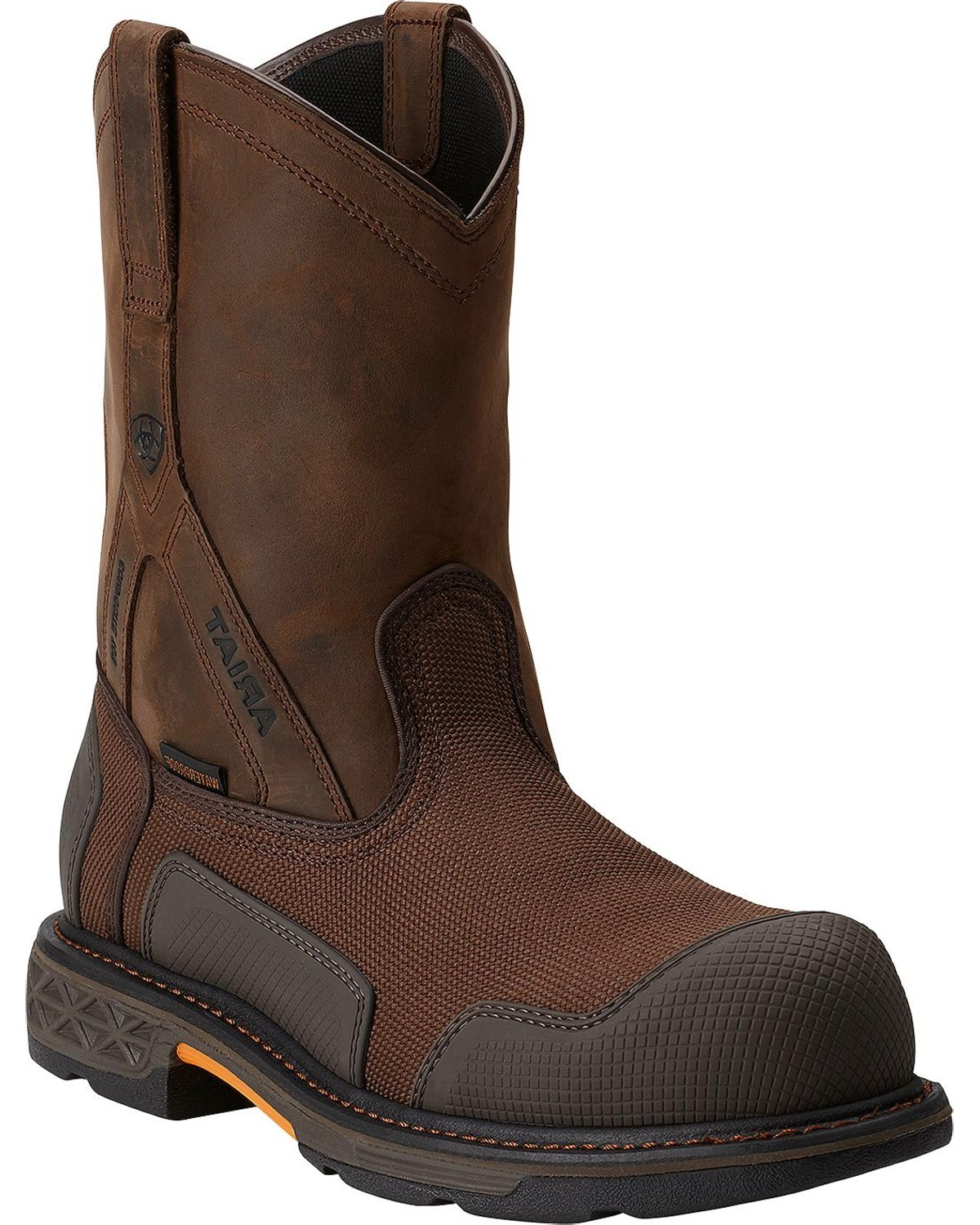 Ariat Overdrive XTR H20 Pull-On Work Boots - Composition Toe ...