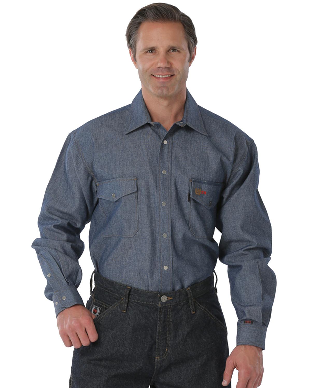 Cinch Wrx Flame Resistant Denim Work Shirt Sheplers