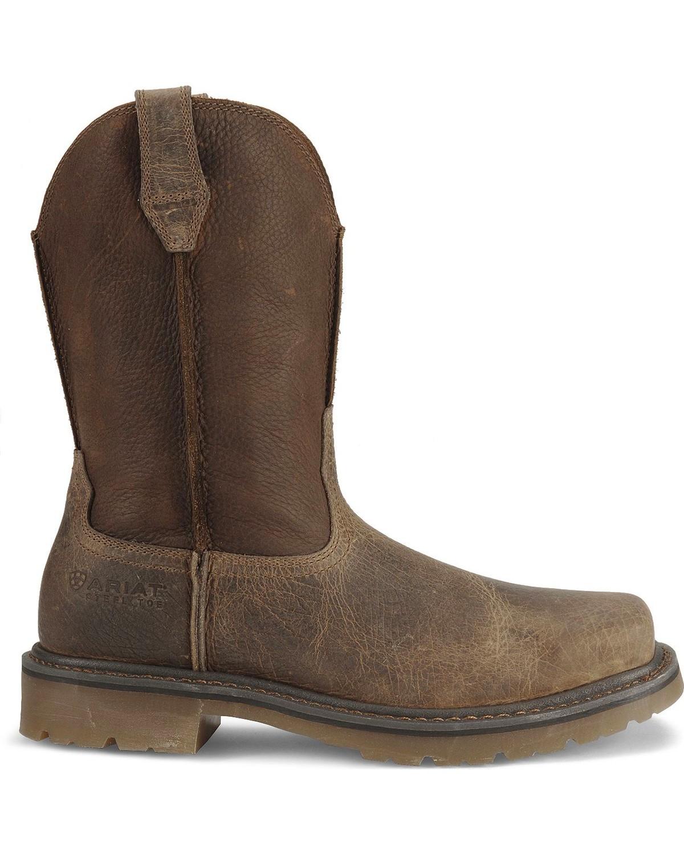 Fashionable steel toe work boots 72